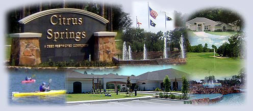 Citrus Springs Florida - an overview of this beautiful master planned community that has so much to offer and has captured the attention, and the heart, of the booming Citrus County real estate market.